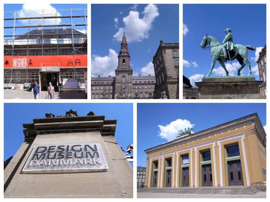 トーヴァルセン美術館からデザインミュージアム